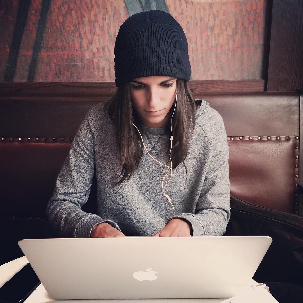 laptop, apple, macbook